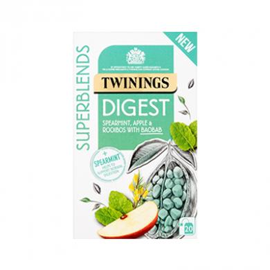 Twinings Superblends - Digest Tea Bags (35g) - Pk of 20