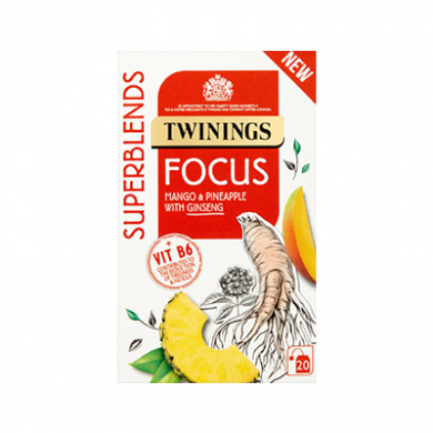 Twinings Superblends - Focus Tea Bags (30g) - Pk of 20
