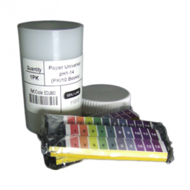 Universal indicator pH1-pH14 - Test Papers (200 Strips)