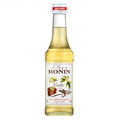 Monin Syrup - Vanilla (250ml)