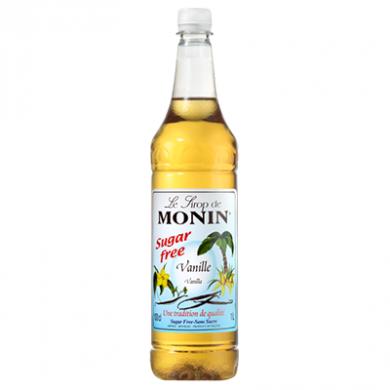 Monin Syrup - Vanilla (Sugar Free) 1 Litre