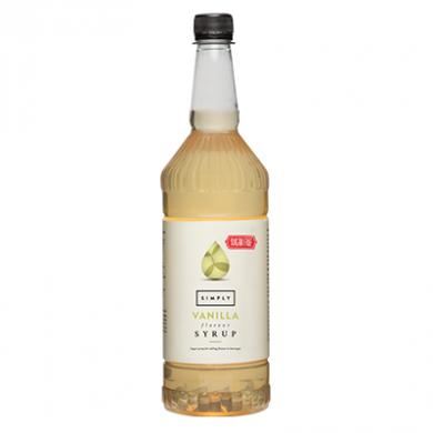 Simply Vanilla (1 Litre) - Sugar Free Syrup