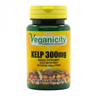 Veganicity - Kelp 300mg (120 Tablets)