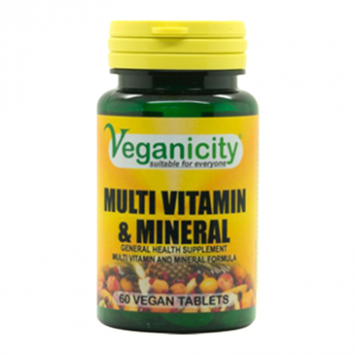 Veganicity - Multi-Vitamin & Mineral (60 Tablets)