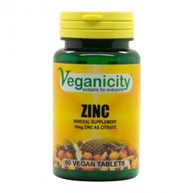 Veganicity - Zinc Citrate (90 Tablets)
