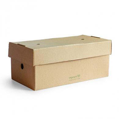 Vegware - Premium Burger Meal Box (9 x 5 inches) Pack of 100