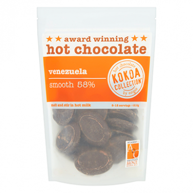Kokoa Collection (210g) - Venezuela (58% Cocoa) Hot Choc Tab