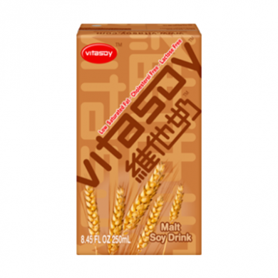 Vitasoy - Malt Soy Drink with Straw (250ml) OFFER BB 7/5/21
