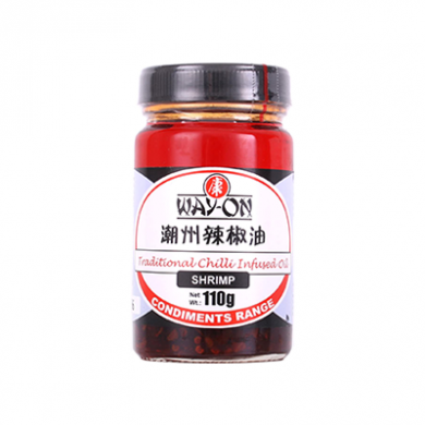Way-On - Traditional Chilli Infused Oil (110g) - Shrimp Flav