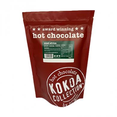Kokoa Collection (1kg) - Pure Cocoa (100% Cocoa) Hot Choc Ta