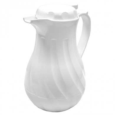 White Beverage Server (1.1 litres/38.5fl.oz)