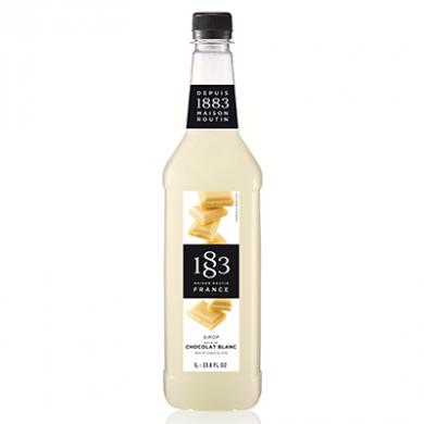 Routin 1883 Syrup - White Chocolate (1 Litre) - Plastic Bott