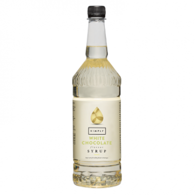 Simply Syrups - White Chocolate (1L)
