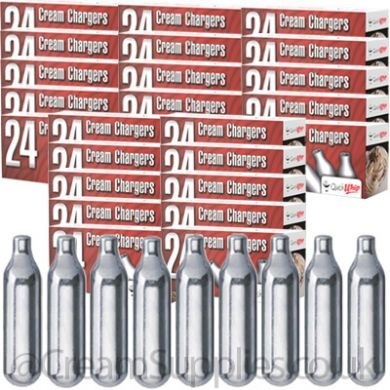 600 Quick Whip N2O Cream Chargers (Business Only) Free DPD D