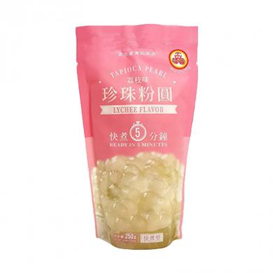 WuFuYuan Tapioca Pearls - Lychee Flavour (250g)