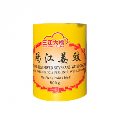 Yangjiang Preserved Soybeans with Ginger (500g)