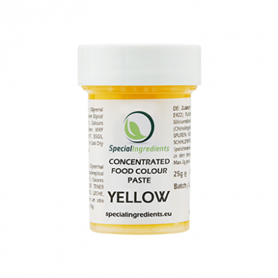 Yellow Concentrated Food Colour Paste (25g)