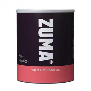 Zuma - WHITE Hot Chocolate (2kg Tin)